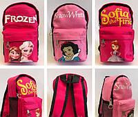 Детские рюкзачки для девочек из текстиля