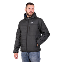 Мужская куртка Nike двухсторонняя черного цвета