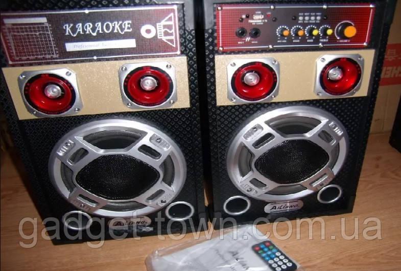 Акустична система Ailiang 198E , потужна система, блютуз, караоке, FM