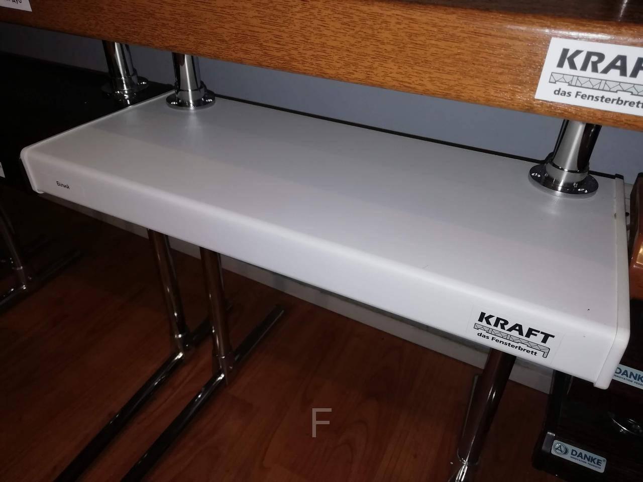 Подоконники Kraft (Крафт) Белый матовый