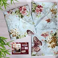 Постельное белье двухспальное с цветами