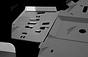 Защита днища Zygo для квадроцикла Polaris XP 550/850 от 2009, фото 3