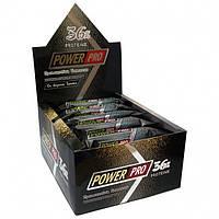 Протеиновый батончик Power Pro (36%) 60 грамм вкус «Брют»