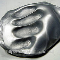 Хендгам Серебро 50г, жвачка для рук, подарок для коллеги по работе