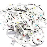 Бумага для бумажного шоу белая с шкалкой
