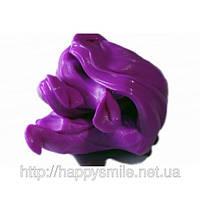 Умный пластилин Фиолетовый 80г – антидепрессант, Handgum развивает творческое мышление