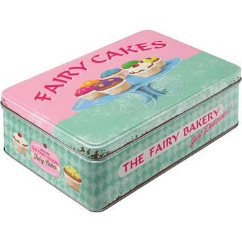 Коробка для хранения Nostalgic-Art Fairy Cakes - Fresh every Day