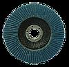 Круг пелюстковий ZA для КШМ Ø125 мм P60