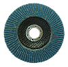 Круг пелюстковий ZA для КШМ Ø125 мм P80
