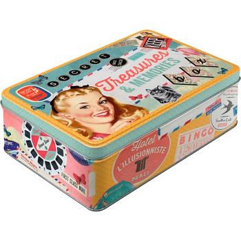 Коробка для хранения Nostalgic-Art Treasures & Memories (30710)