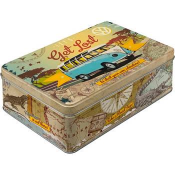 Коробка для хранения Nostalgic-Art VW Bulli - Let's Get Lost (30701)