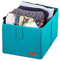 Ящик-органайзер для хранения вещей M Organize HY-M лазурь R176364