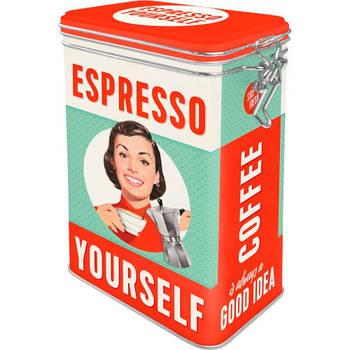 Коробка для хранения с фиксатором Nostalgic-Art Espresso Yourself (31104)