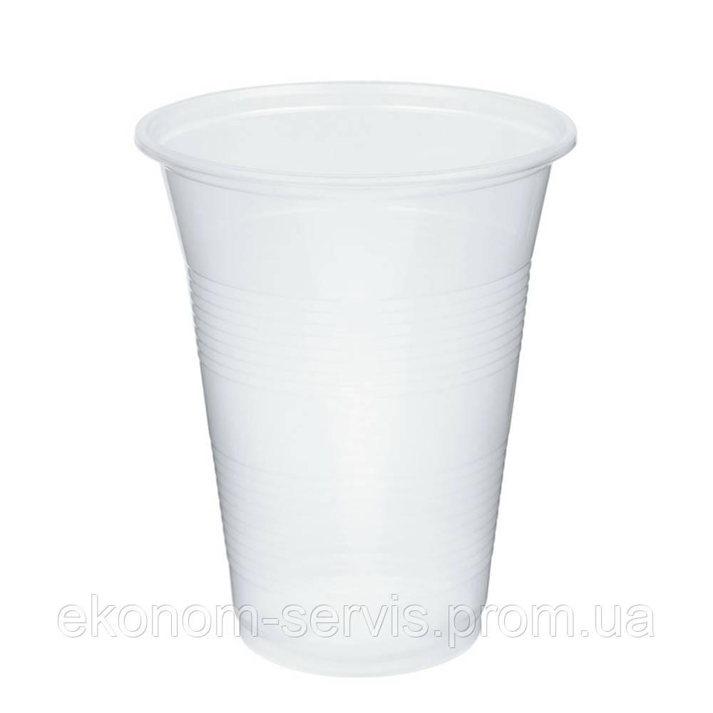 Стакан пластиковый Arkaplast 420мл, прозрачный 50 шт.