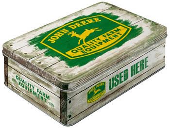 Коробка для хранения Nostalgic-Art John Deere QFE Wood