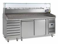 Стол холодильный для пиццы Tefcold PT1310