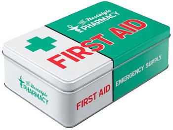 Коробка для хранения Nostalgic-Art First Aid Green (30740)