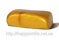 Жвачка для рук, Золото 80г, ощутите блеск благородного металла в своих руках! Хендгам с запахом ванили