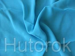 Штапель (бирюза голубая)