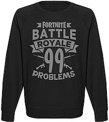 """Свитшот Fortnite Battle Royale """"99 Promblems"""""""