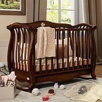 Кроватка Baby Italia Andrea Lux Antiqued Walnut 150х76 см (темный орех, дерево бук)