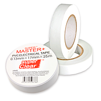 "Изолента ""Master+"" белая 25м"