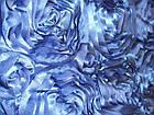Ткань АТЛАСНЫЕ (РОЗЫ 3D), фото 2