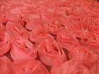 Шифоновые розы 3D (розовый), фото 2