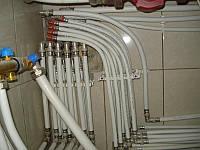 Монтаж водопроводных труб. Киевская область