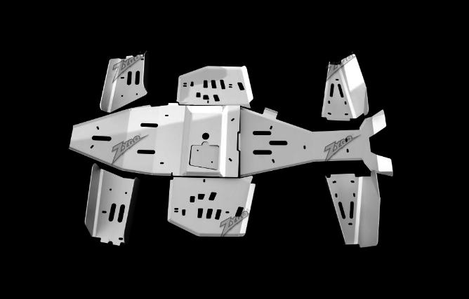 Защита днища Zygo для квадроцикла Polaris Scrambler 850/1000