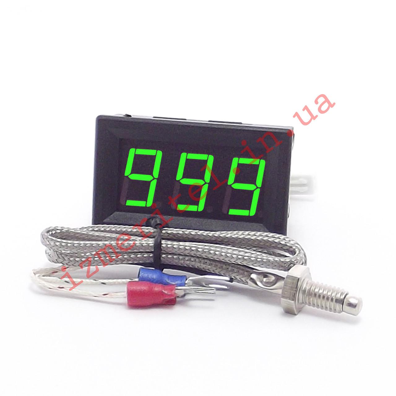 Высокотемпературный цифровой термометр с выносным датчиком -60...999 °C