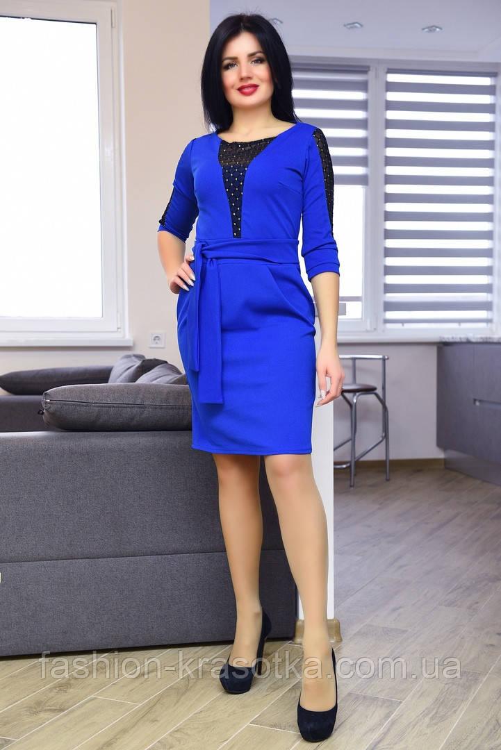 Шикарное женское платье,размеры:44,46,48.