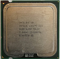 Процессор Intel Core 2 Duo E4400 SLA5F 2.00GHz 2M Cache 800 MHz FSB Socket 775 Б/У, фото 1