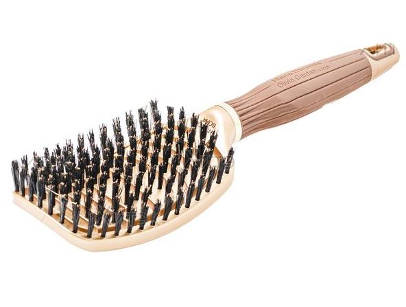 Щетка для волос Olivia Garden Nano Thermic  FLEX Boar с натуральной щетиной OGBNTFLBOAR