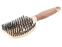 Щетка для волос Olivia Garden Nano Thermic  FLEX Boar с натуральной щетиной OGBNTFLBOAR, фото 1