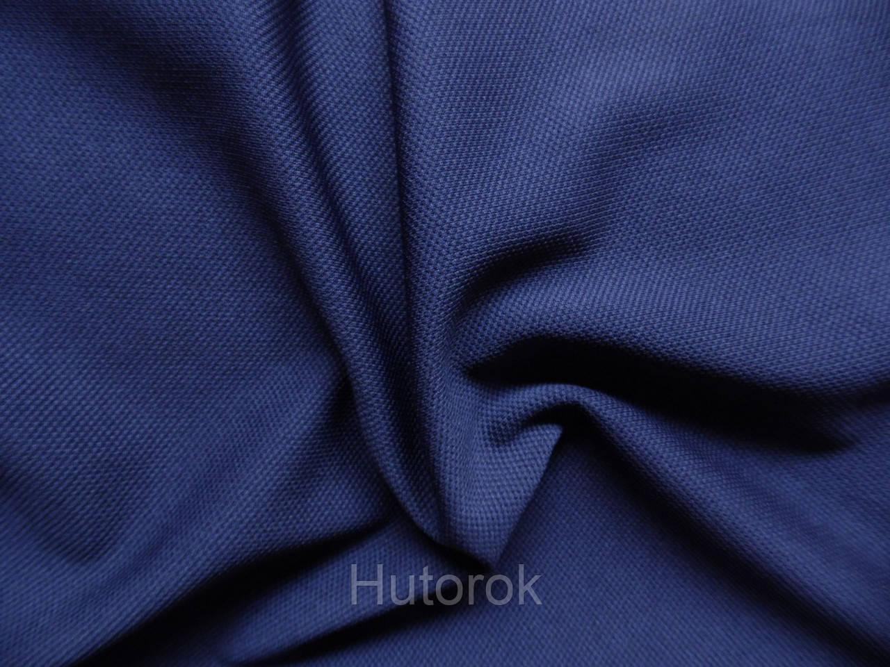 Трикотаж кукуруза (синий)