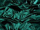 Бархат стрейч (зеленый изумруд), фото 2