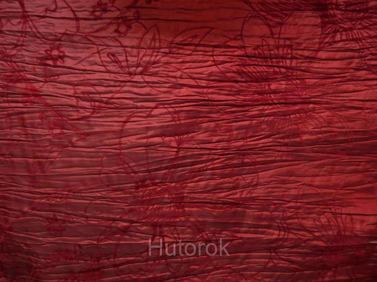 Тафта флок (бордо)