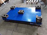 Усиленные платформенные весы 2000 х 1200 (4000 кг) лист рифленка 4мм, фото 2