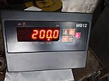Усиленные платформенные весы 2000 х 1200 (4000 кг) лист рифленка 4мм, фото 3