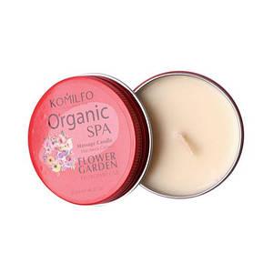 Масажна свічка Komilfo Massage Candle - Flower Garden, 20 г