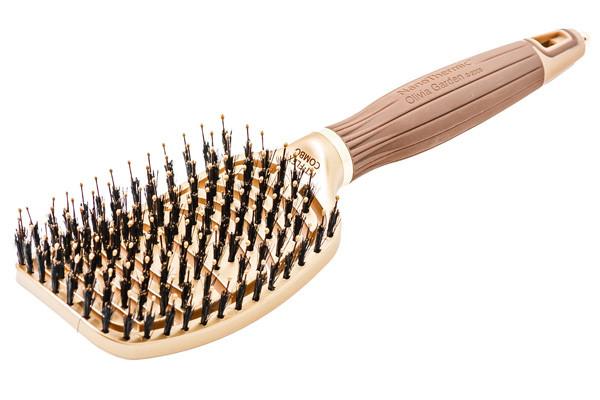 Щетка для волос Olivia Garden Nano Thermic  FLEX Combo с комбинированной щетиной OGBNTFLCOMBO