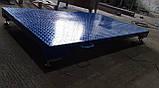Усиленные платформенные весы 2000 х 1200 (4000 кг) лист рифленка 4мм, фото 4