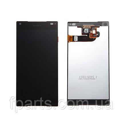 Дисплей для Sony Xperia Z5 Compact E5803, E5823 с тачскрином (Black), фото 2