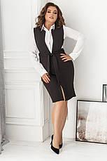 Платье-сарафан, №154, чёрный, фото 3