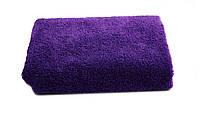Махровое полотенце для рук и лица 50х90 см Фиолет Узбекистан