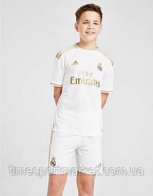 Дитяча Футбольна форма Реал Мадрид 2019-2020 біла домашня (Репліка)