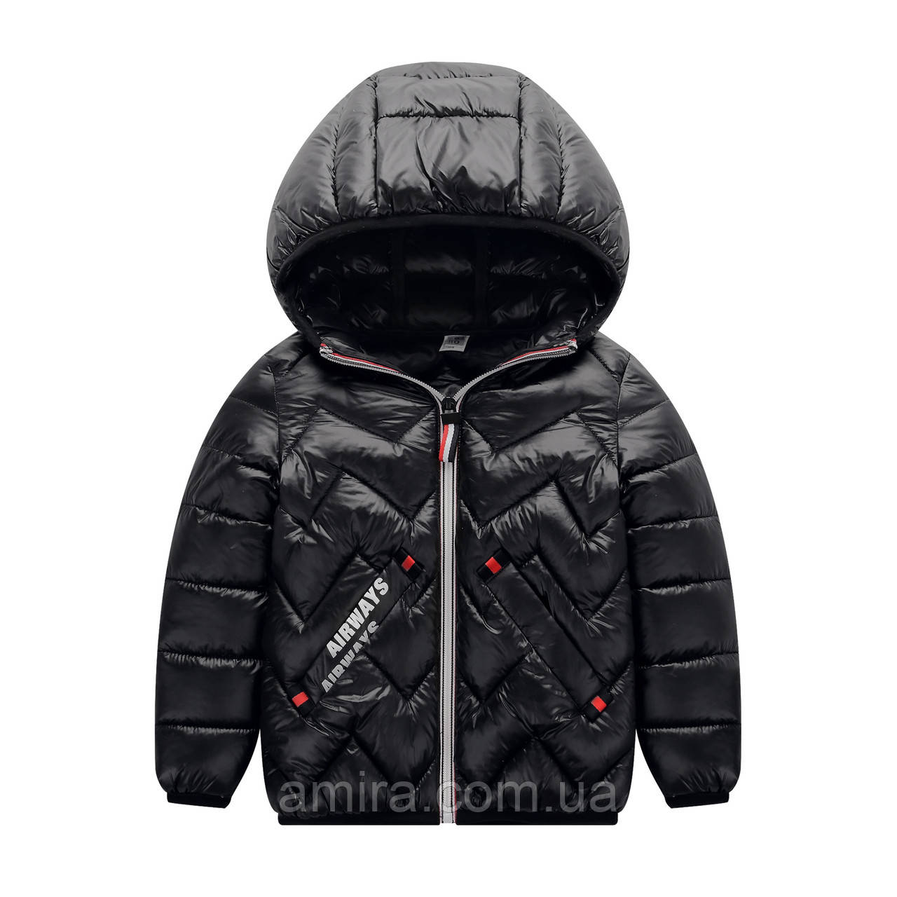 Куртка детская Airways, черный Berni (150)