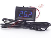 Термометр автомобильный цифровой с выносным датчиком -50...+125 °С