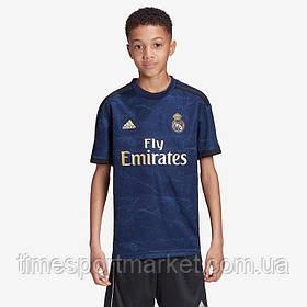 Дитяча Футбольна форма Реал Мадрид 2019-2020 чорна гостьова (Репліка)